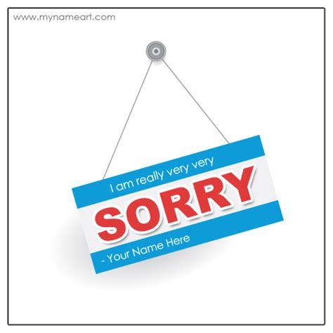 how to make a sorry card create a sorry card