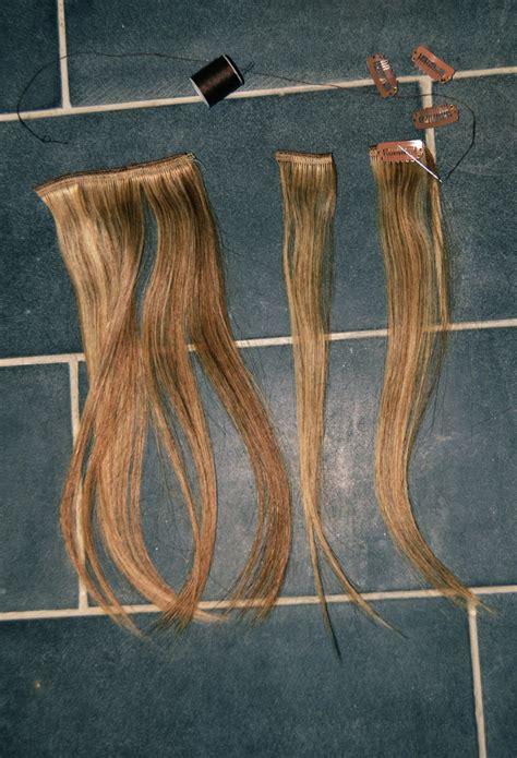 hair extensions diy mr kate diy clip in hair extensions