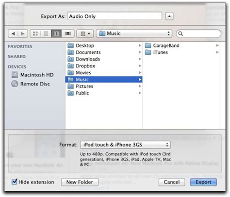 format audio quicktime quicktime x extracting audio very easily the mac observer