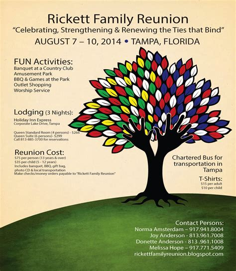 Family Reunion Invitation Template Portablegasgrillweber Com Template Ideas