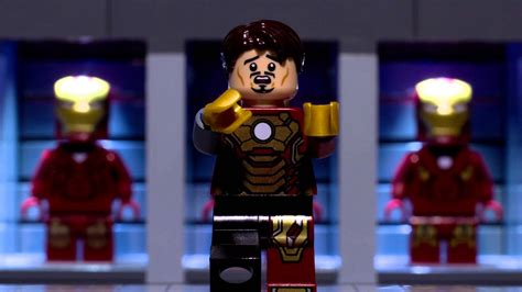 Diorama House by Lego Iron Man S New Suit Youtube