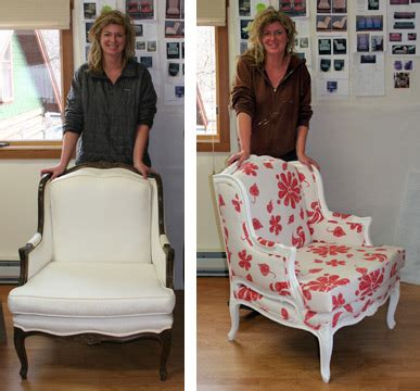 Free Upholstery Classes by Before And After Bergere Chair
