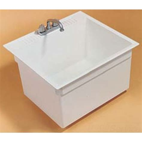 fiat drop in laundry sink fiat dl1100 molded laundry tub plumbersstock