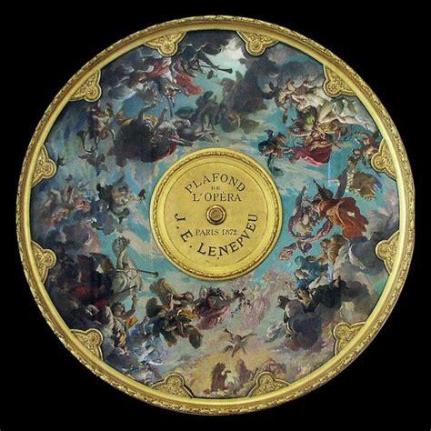 Plafond Opera by D 233 Bat Sur Le Plafond De L Op 233 Ra Garnier Par S De La
