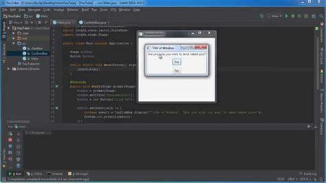 tutorial java gui javafx java gui tutorial 6 communicating between