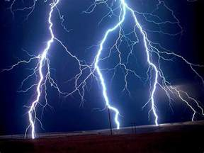 Lightning Light Calm After The Poetry Anytime Anyplace Rhyme