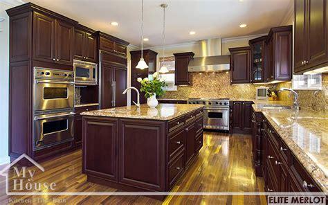 deals on kitchen cabinets fabuwood elite merlot kitchen cabinets best kitchen