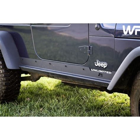 rugged ridge australia rugged ridge 11504 15 heavy duty rocker panel guards 97 06 jeep wrangler tj