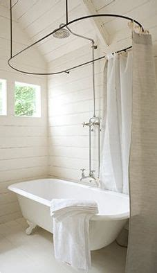 shower curtain rails for freestanding baths 1000 images about bathroom on pinterest