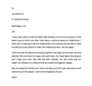 friendship break up letter