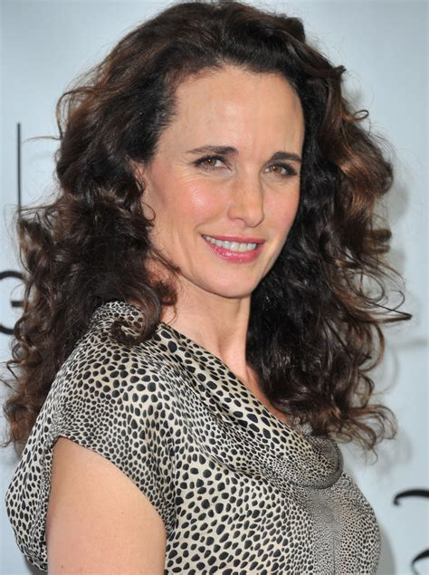 long natural hair for women over 50 andie macdowell long curls long curls lookbook stylebistro