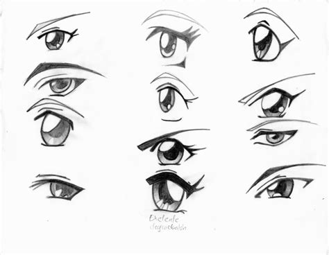 imagenes de ojos faciles para dibujar ojos femenino by gkangi on deviantart