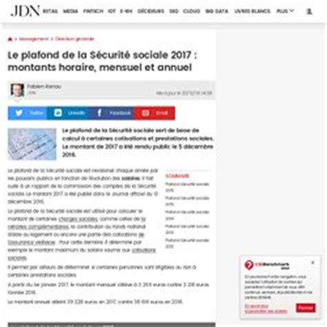 Plafond Mensuel Securité Sociale by Chapitre 7 Les 233 L 233 Ments Collectifs Du Bulletin De Paie