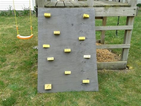 diy outdoor climbing wall diy climbing wall for the porch the yard project pinterest