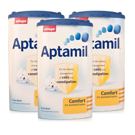 Aptamil Comfort For Constipation by Aptamil Comfort 900g X3 Colic And Constipation Formula
