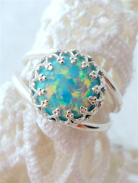 Eheringe Opal by Opal Ring Mint Opal Ring Silver Opal Ring Gemstone Ring