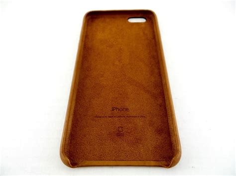 Apple Iphone 6s Leather Original Brown apple iphone 6 6s plus leather saddle brown mkxc2zm a authentic oem ebay