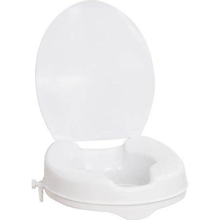 aquasense raised toilet seat  lid white