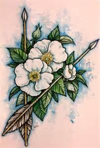 cherokee rose by jenimal on deviantart