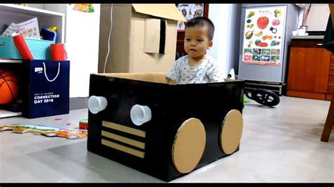 box car for cardboard box car for