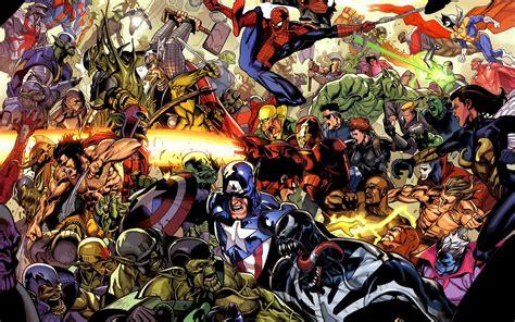 marvel universe marvel comics wallpaper