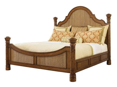 bahama beds tommy bahama island estate round hill king panel bed to010531134c
