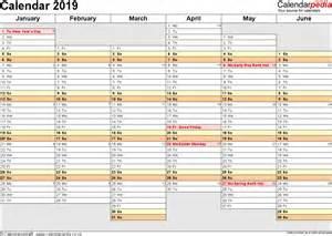 Calendar 2019 Printable Uk 100 Templates Practical Pages Weekly Calendar 2016