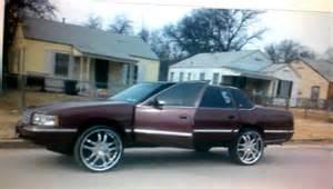98 Cadillac Sedan 98 Quot Cadillac Fleetwood On Lifted On 24s 3200 Fort