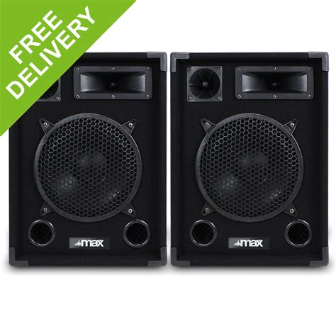 bedroom speakers pair 10 quot passive bedroom dj speakers woofer disco party