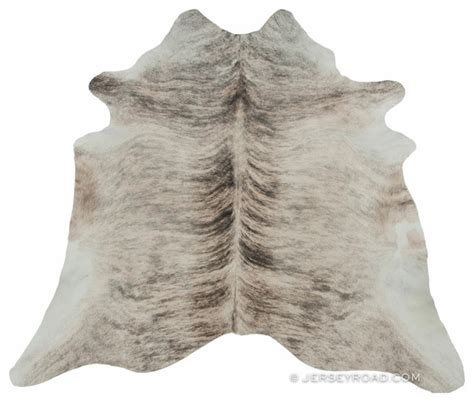 Light Cowhide Rug Light Brindle Cowhide Rug Contemporary Rugs Other