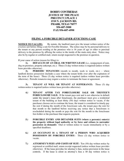 sle eviction notice letter texas texas eviction notice letter pictures to pin on pinterest