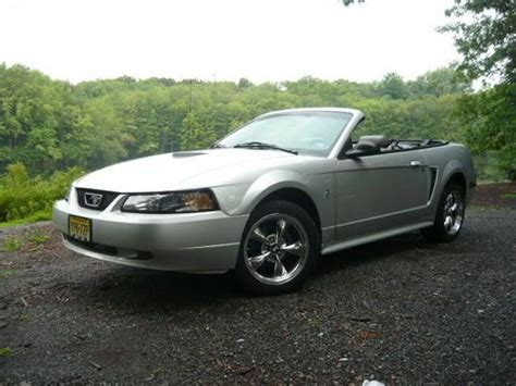 2001 ford mustang rims find used 2001 silver mustang convertible cobra rims
