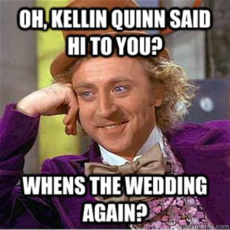 Sallie Mae Memes - oh kellin quinn said hi to you whens the wedding again