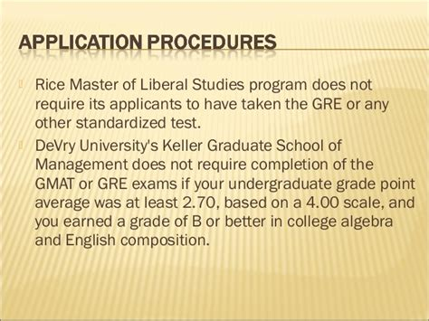 Keller Graduate Mba Program by Gre Measure Of Graduate School Success Fnl
