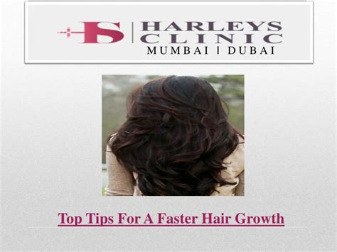 download hair growth tips ppt top tips for a faster hair growth powerpoint