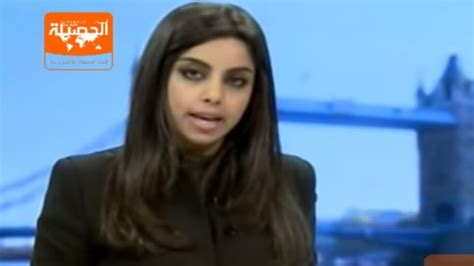 saudi female news anchor outrage in saudi arabia at appearance of female newsreader