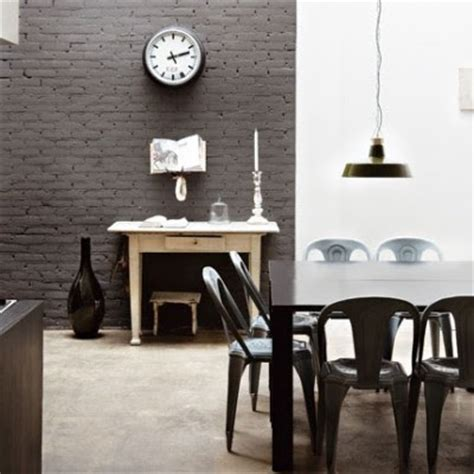 home with exposed brick and exposed brick and plaster walls for the interior design of