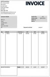 Invoice Template Self Employed Aux Simple Invoice Software Self Employed Ebay