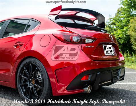 new mazda 3 hatchback 2014 mazda 3 2014 hatchback style rear bumper rear