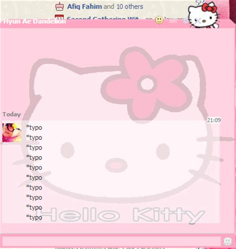 tutorial gambar rilakkuma zatieylicious tutorial facebook cute chatbox hello
