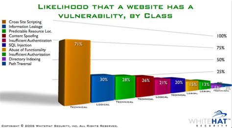 Top 10 Best Websites Out There by Jeremiah Grossman Web Application Security Risk Report