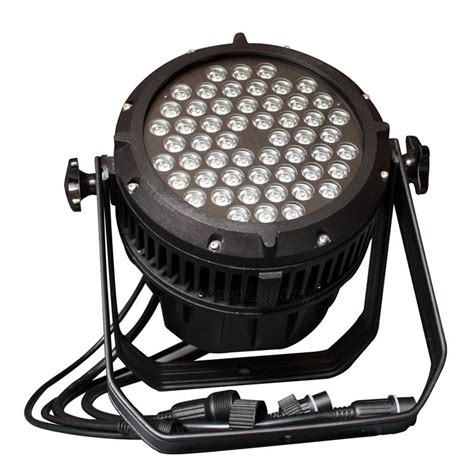 outdoor can light 54x3w waterproof led par can light rgbw outdoor ip65 for sale cheap price
