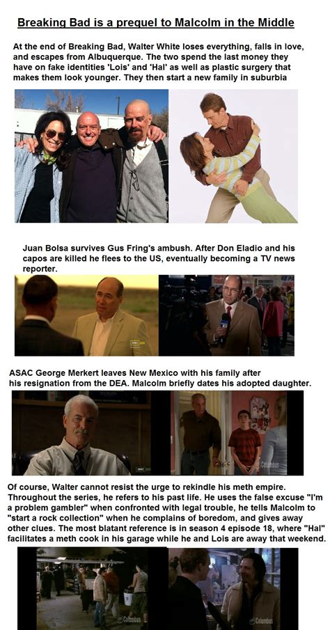 Breaking Bad Malcolm In The Middle Meme - with jane kaczmarek joining breaking bad for 2 episodes a