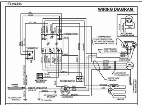 goodman air conditioner wiring diagram wiring diagram