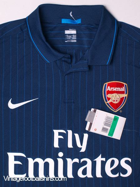 Kaos Arsenal New Arsenal 10 2009 10 arsenal away shirt bnwt xl for sale