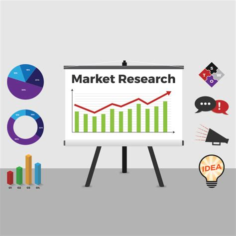 research design key elements market research elements vector freevectors net