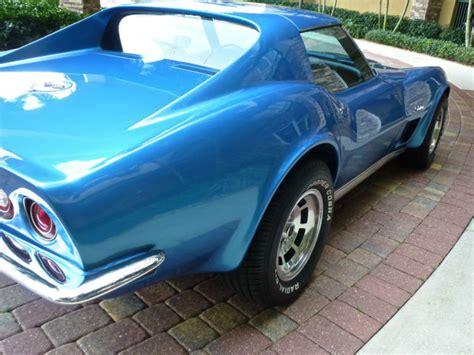 1973 blue corvette seller of classic cars 1973 chevrolet corvette blue blue