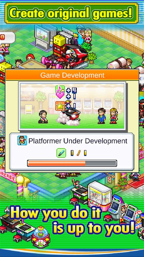 game dev story mod apk unlimited money update kairosoft goes back to its roots with pocket