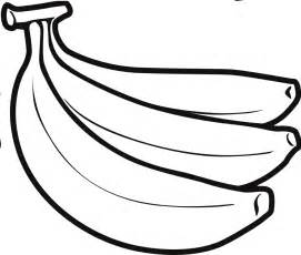 banana coloring page banana fruit coloring page for boys and