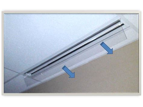 ceiling air register deflector ceiling tiles